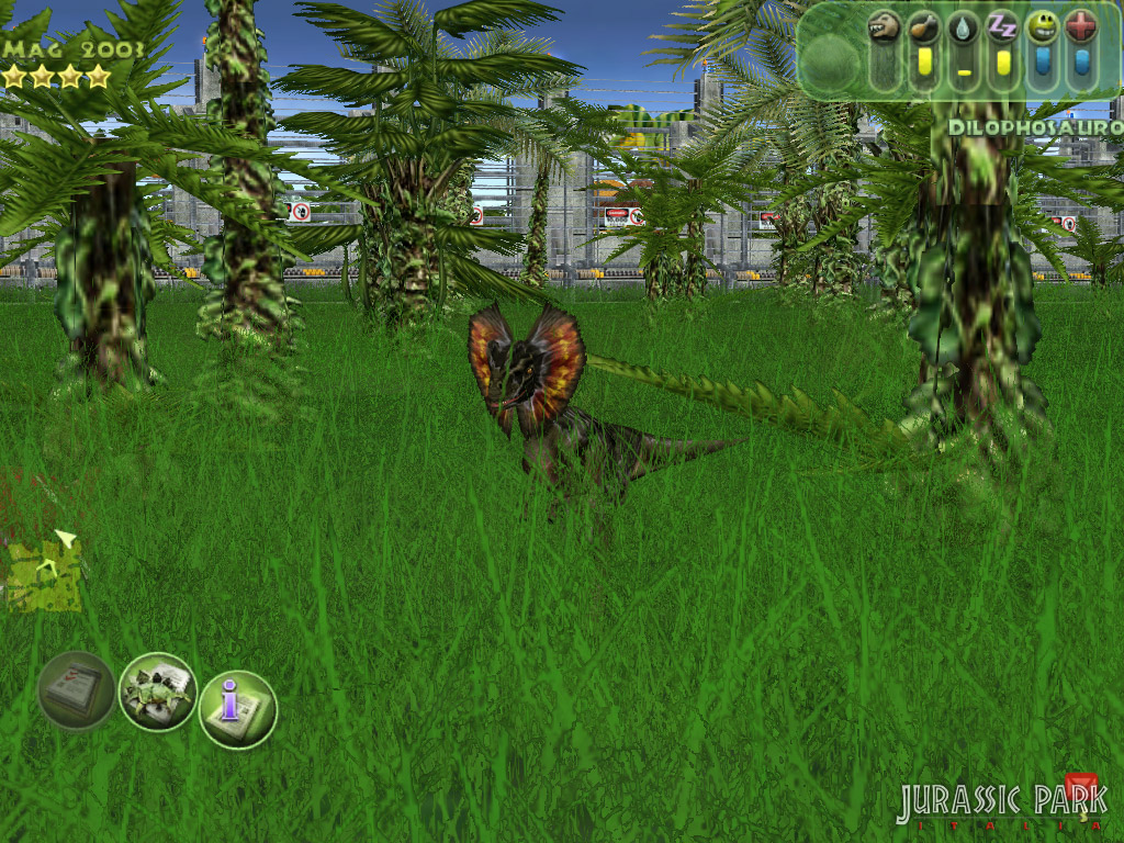 Dilophosaurus Jurassic Park The Game | www.pixshark.com ...